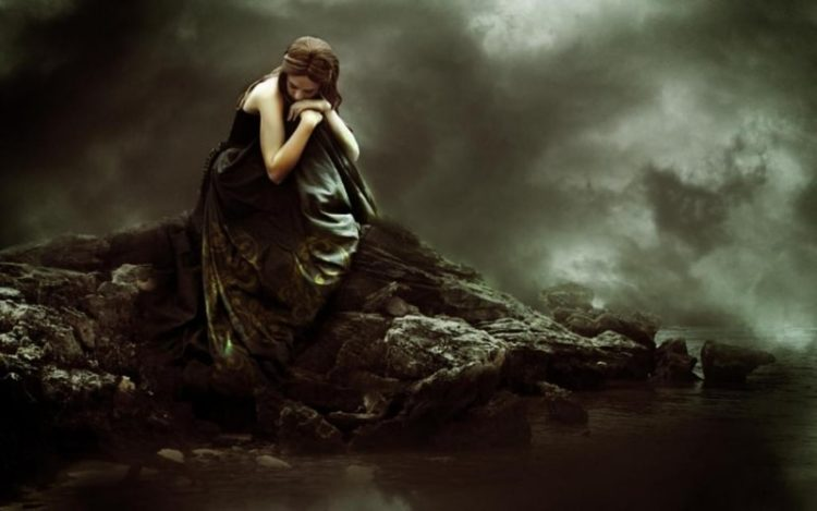 tristeza e solidão