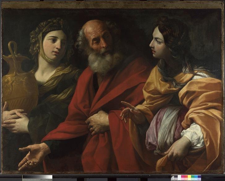 Ló e o incesto com as filhas