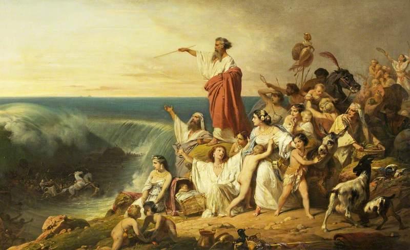 travessia do Mar Vermelho